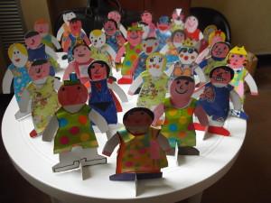bambole di carta- 1 elementare