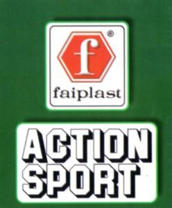 La F della Faiplast, inserita in un esagono con fondo rosso, o verde o incorniciata in un quadrato, è sempre rimasta distintiva della sua produzione, dai primi anni '60 ad oggi.