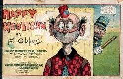 Il personaggio Happy Hooligan creato da Opper e pubblicato